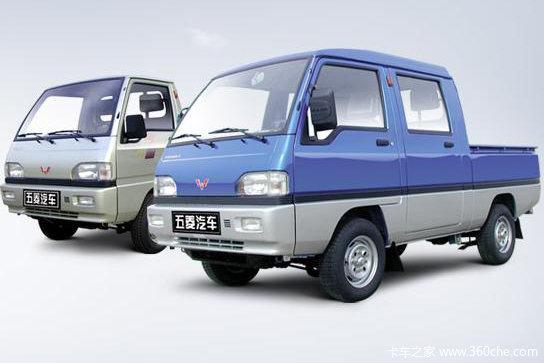 五菱 PN系列 1.0L 47马力 汽油 双排栏板微卡外观图