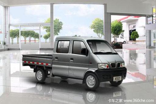 2008款 东风小康 K02系列 1.0L 53马力 汽油 双排栏板微卡外观图