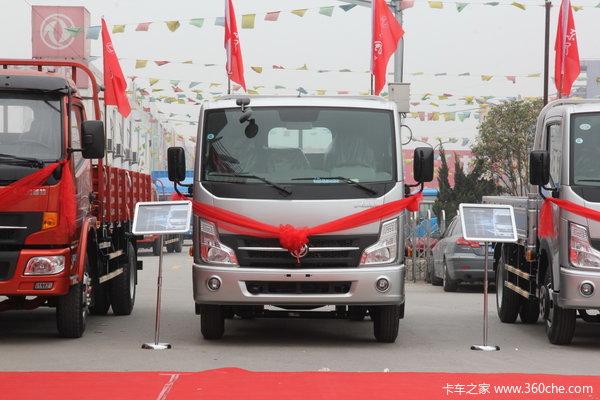 东风 凯普特N300 140马力 4X2 5.05米单排栏板载货车(EQ1050S9BDE)