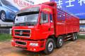 东风柳汽 霸龙重卡 315马力 8X4 9.6米仓栅载货车(LZ5312CSQEL)