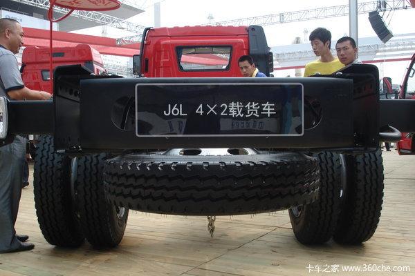 解放 J6L中卡 140马力 4X2 载货车(底盘)(CA1160P62K1L3E)底盘图