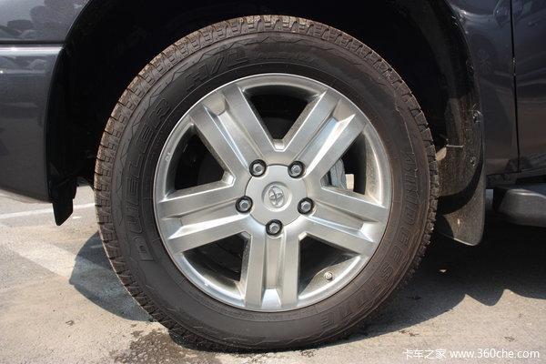 丰田 坦途5700 限量版 5.7L汽油 四驱 双排皮卡底盘图