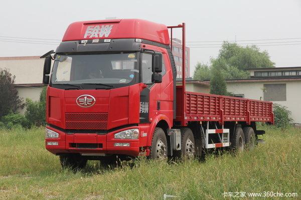 2013款解放 J6P重卡 370马力 8X4 栏板载货车(CA1310P66K24L7T4E4)