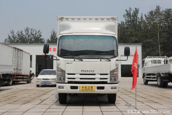 庆铃 700P系列中卡 175马力 4X2 厢式载货车(QL5100XTPARJ)外观图