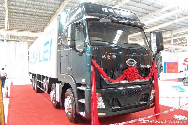 力帆时骏 格奥雷重卡 310马力 8X4 厢式载货车(LFJ1316G1)