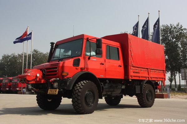 奔驰 Unimog系列 218马力 4X4 越野卡车(型号U4000)