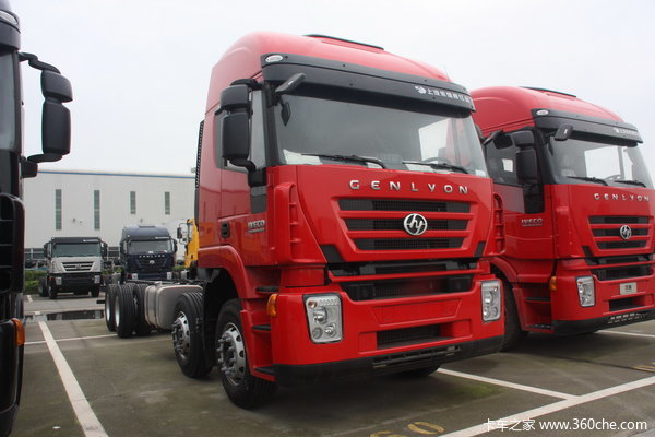 红岩 杰狮重卡 390马力 重载版 8X4 栏板载货车(CQ1315HTG466V)