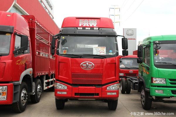解放 J6M重卡 240马力 6X2 栏板载货车(轻量化)(CA5250CLXYP63K1L6T3A2E)外观图