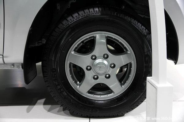 2013款长城 风骏5 商务版 精英型 2.8L柴油 小双排皮卡底盘图