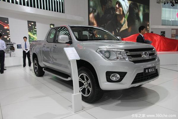 2013款长城 风骏5 公务版 领航型 2.4L汽油 大双排皮卡