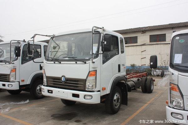 重汽王牌 7系中卡 130马力 4X2 载货车(底盘)(CDW1090HA1C3)