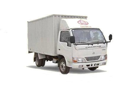 长安跨越 威豹 120马力 4X2 5.2米单排厢式载货车(SC5050XXYKD31)