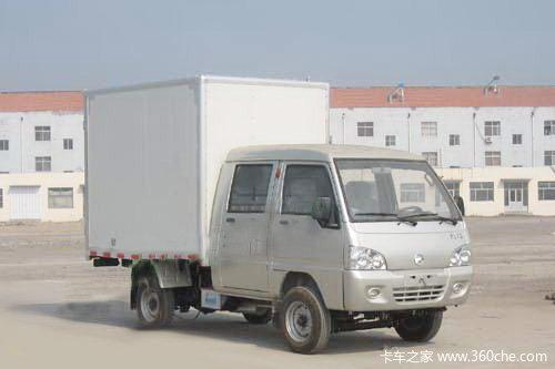 凯马 福运来 52马力 汽油 双排厢式微卡外观图