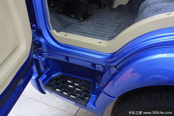 中国重汽 HOWO 悍将 102马力 4X2 4.85米排半栏板载货车(ZZ1077D3815B171)驾驶室图