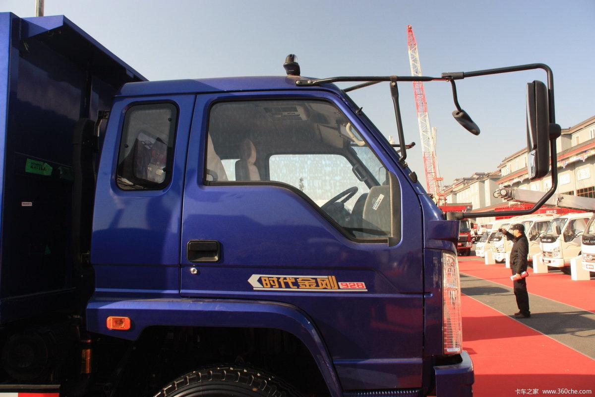 时代 金刚轻卡 130马力 4x2 自卸车 bj3073dcpfa s4