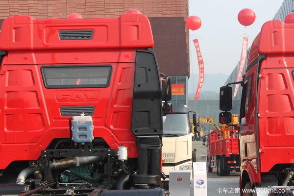 解放 J6P重卡 350马力 8X4 载货车(底盘)(CA1310P66K24L7T4A1E)底盘图
