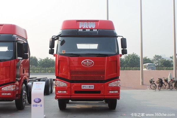 解放 J6P重卡 350马力 8X4 载货车(底盘)(CA1310P66K24L7T4A1E)外观图