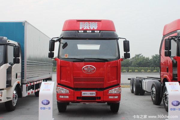 解放 J6M重卡 260马力 8X2 栏板载货车(CA1310P63K1L6T10A3E)外观图