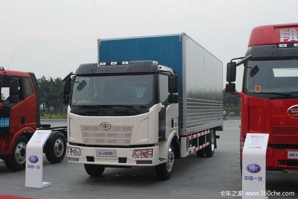 解放 J6L中卡 140马力 4X2 厢式载货车(CA5160XXYP62K1L3E4)