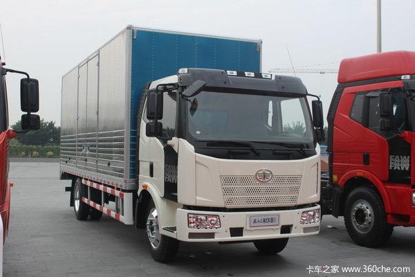 解放 J6L中卡 160马力 4X2 厢式载货车(CA5120XXYP62K1L3E4Z)