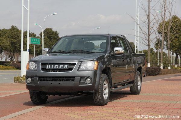2014款海格 新御骏 标准版 2.2L汽油 四驱 大双排皮卡