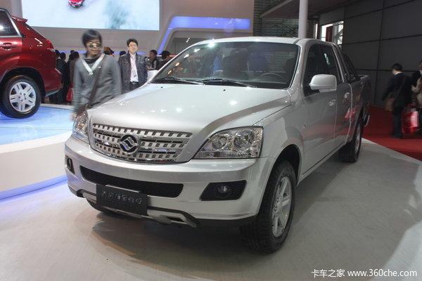 2012款黄海 大柴神 至尊版 标准型 3.2L柴油 四驱 双排皮卡