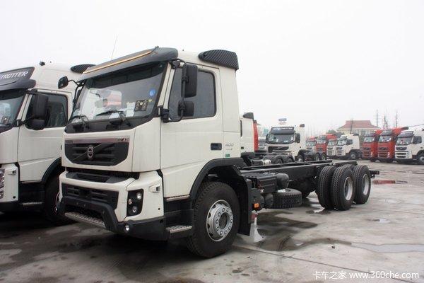 沃尔沃 FMX重卡 400马力 6X4 专用车(底盘)