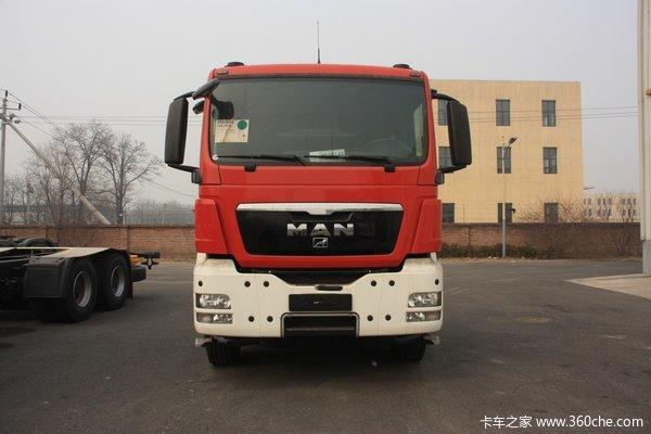 曼(MAN) TGS33系列重卡 440马力 6X4 消防车(底盘)(型号33.440)
