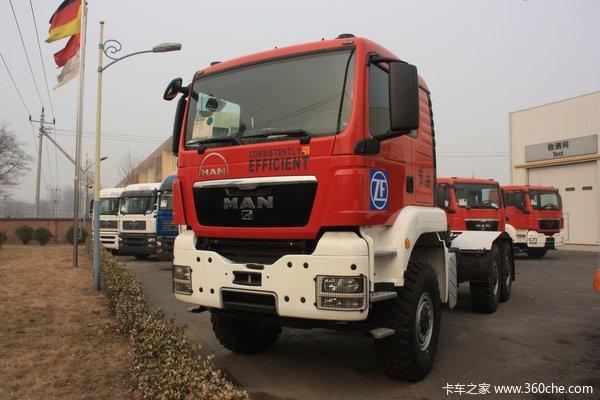 曼(MAN) TGS33系列重卡 540马力 6X6 消防车(底盘)(型号33.540)