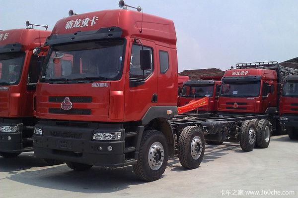 东风柳汽 霸龙重卡 260马力 8X2 栏板载货车(LZ1313PEL)外观图