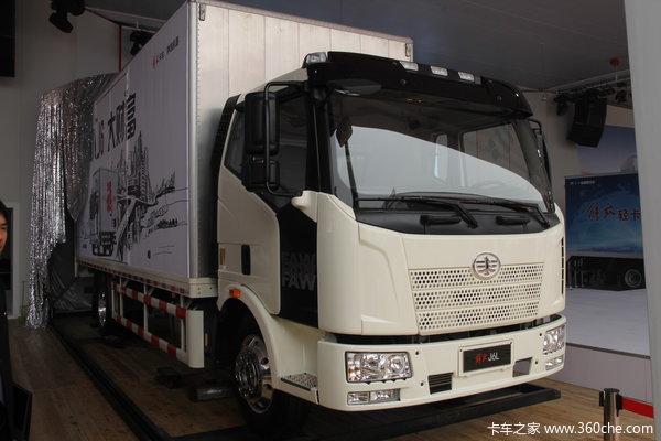 解放 J6L中卡 140马力 4X2 厢式载货车(新道依茨)(CA1160P62K1L4E4)