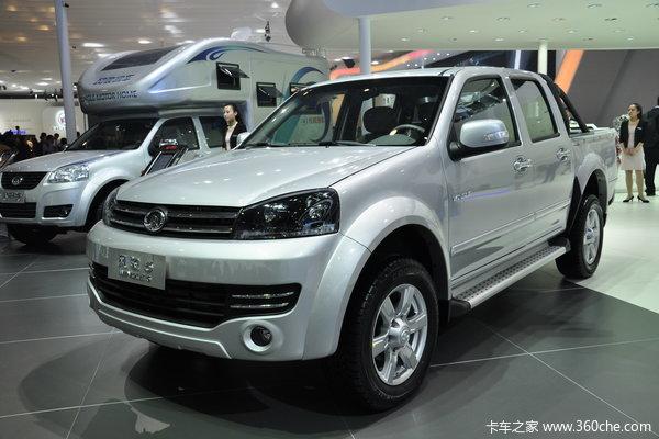 2012款长城 风骏5 2.0L柴油 四驱 双排皮卡