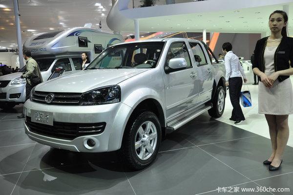 2012款长城 风骏5 2.0L柴油 四驱 双排皮卡外观图