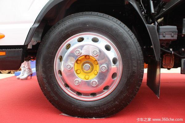 江淮 帅铃III 160马力 4X2 5.135米单排厢式载货车(HFC5081XXYP71K1C6)底盘图