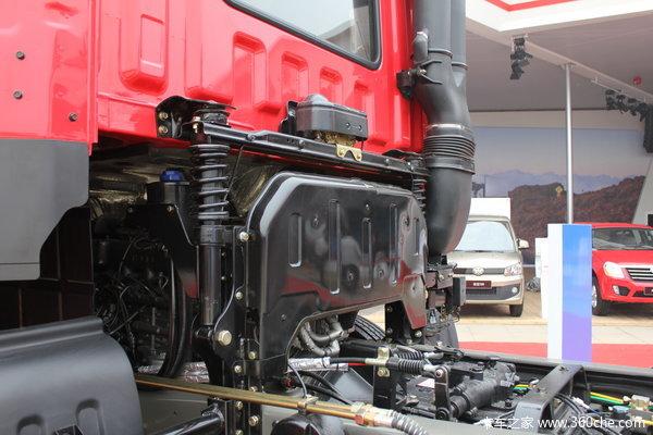 江淮 格尔发K3系列重卡 270马力 8X4 载货车(底盘)(HFC1311P2K4H45F)底盘图