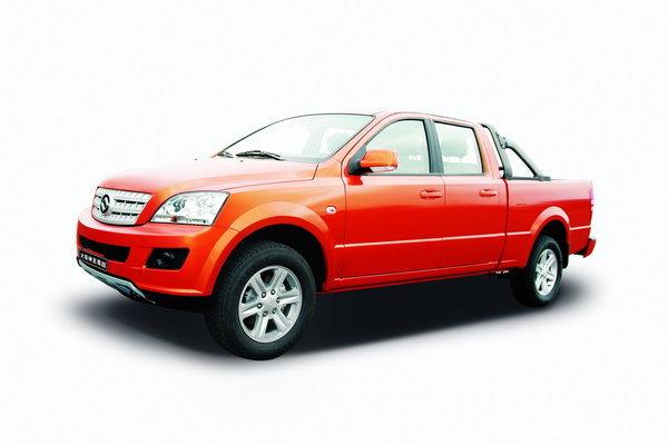 2012款黄海 大柴神 至尊版 豪华型 3.2L柴油 四驱 双排皮卡