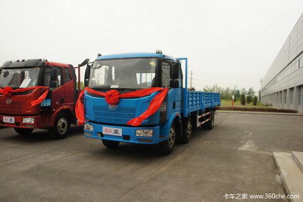 解放 J6L中卡 180马力 6X2 栏板载货车(CA1190P62K1L7T3E4)