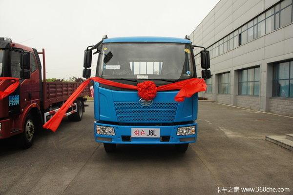 解放 J6L中卡 220马力 6X2 栏板载货车(CA1250P62K1L5T3E)外观图