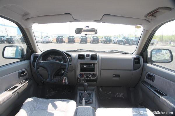 一汽通用 坤程 豪华型 2.4L柴油 双排皮卡驾驶室图
