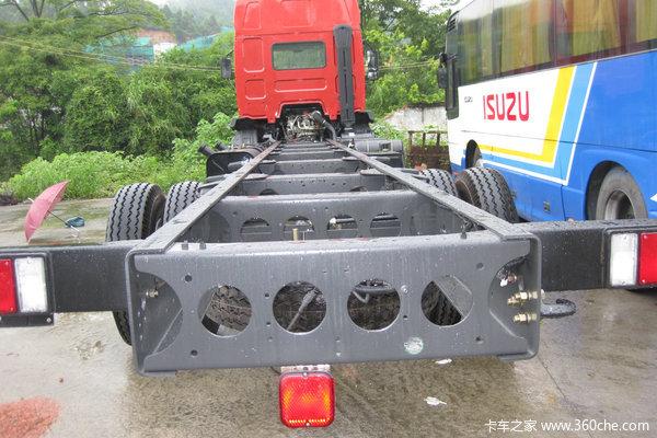 东风柳汽 乘龙609中卡 220马力 6X2 仓栅载货车(LZ5250CSRCS)底盘图