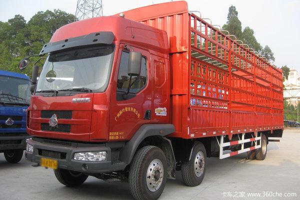 东风柳汽 乘龙中卡 160马力 4X2 仓栅式载货车(LZ5160CCYRAPA)