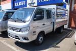 福田 祥菱M2 1.6L 122马力 汽油 3.1米双排仓栅式微卡(国六)(BJ5032CCY4AV5-01)